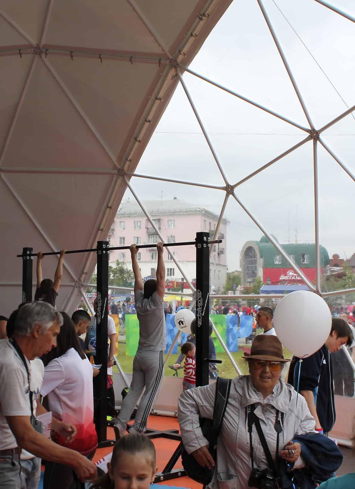 Купольные шатры для мероприятий