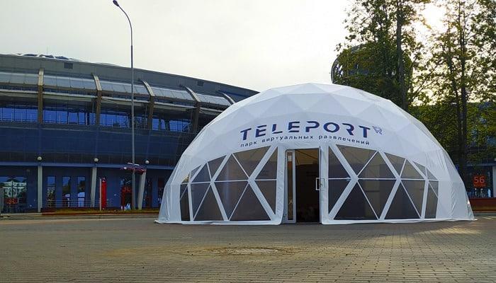 Мобильный купол для игровой зоны