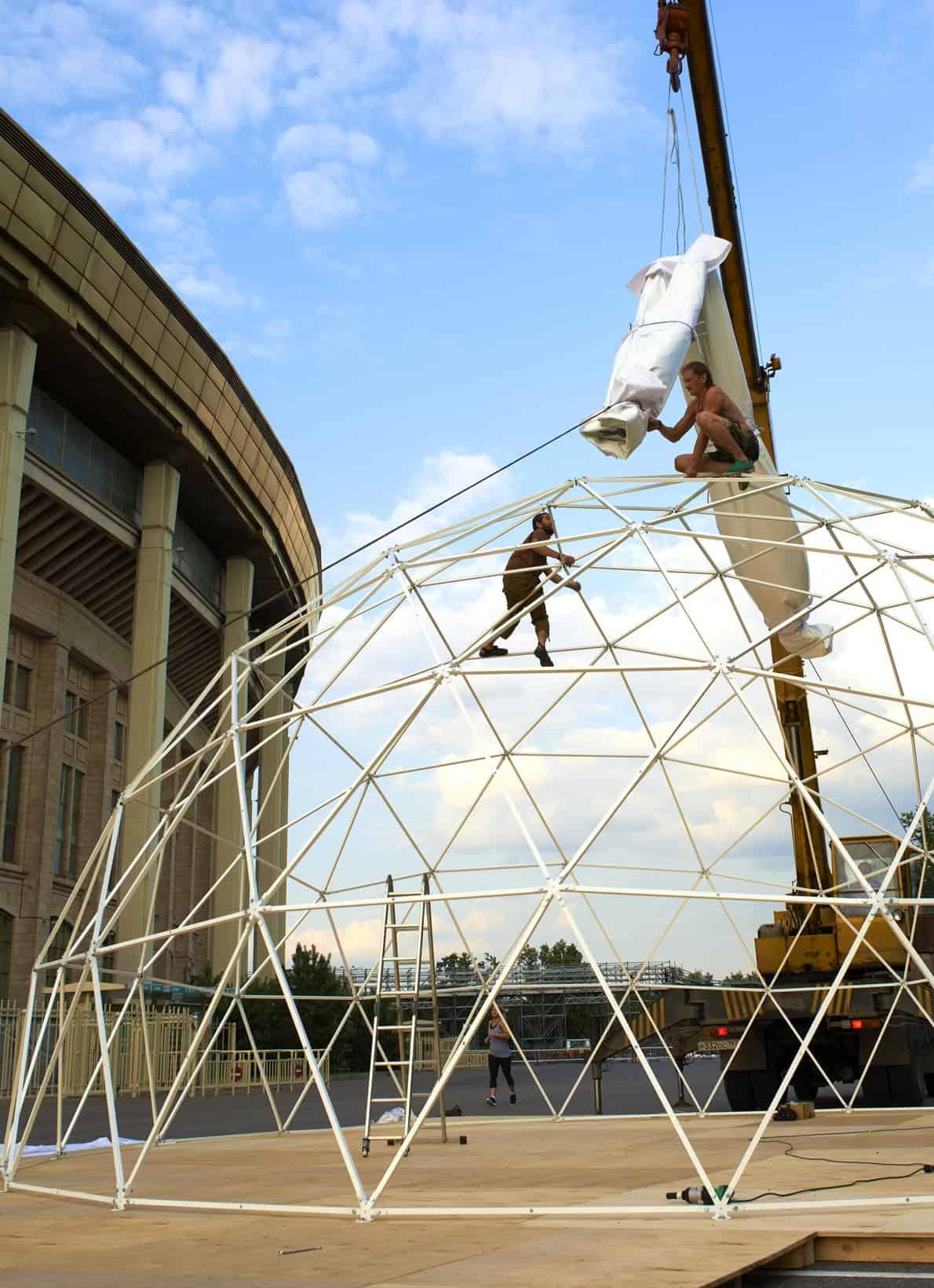 тентовый купол