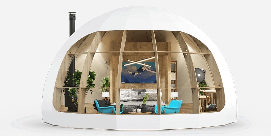 Глэмпинг купол